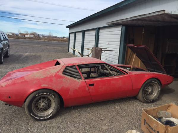 Pantera For Sale Craigslist >> Daily Turismo: Project in the Jungle: 1974 DeTomaso Pantera Kit Car