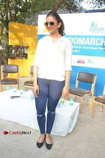 Actress Rakul Preet Singh at Endometriosis Awareness Walk at Apollo Cradle  0114.jpg