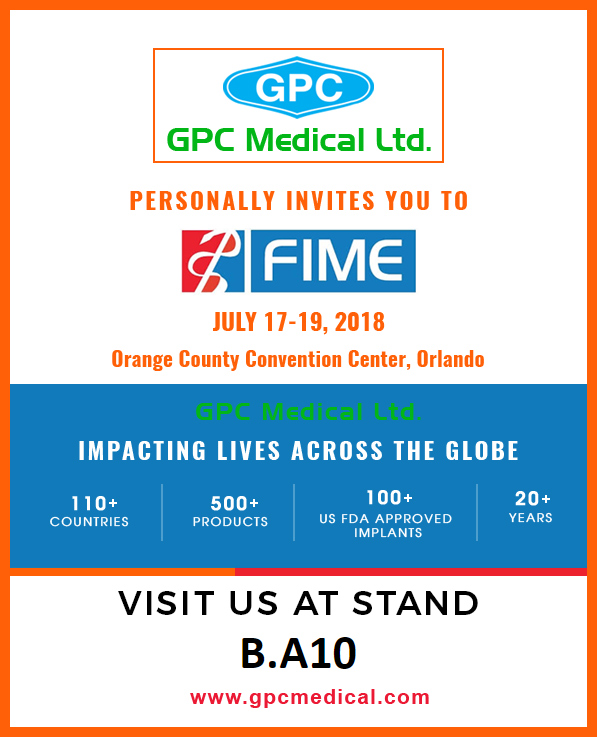 Visit us at FIME Show 2018