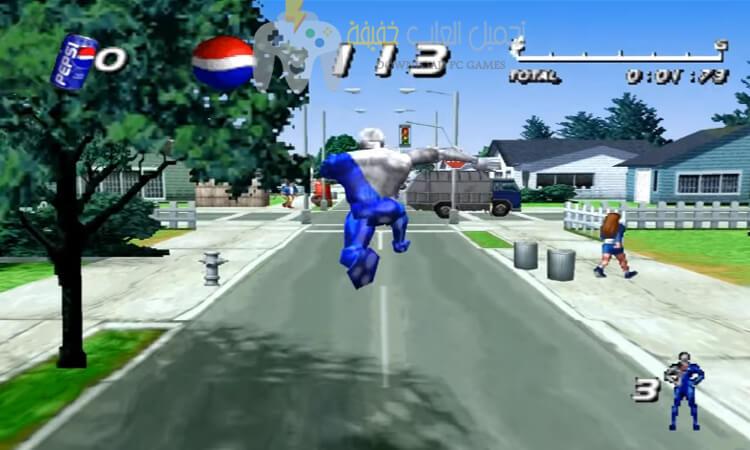 تحميل لعبة بيبسي مان Download Pepsi Man للكمبيوتر
