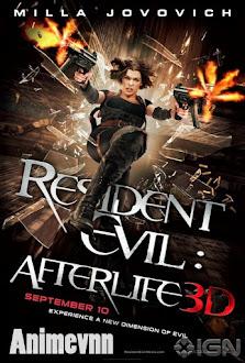 Resident Evil 4 -Vùng Đất Quỷ Dữ 4 - Resident Evil 2010 2010 Poster