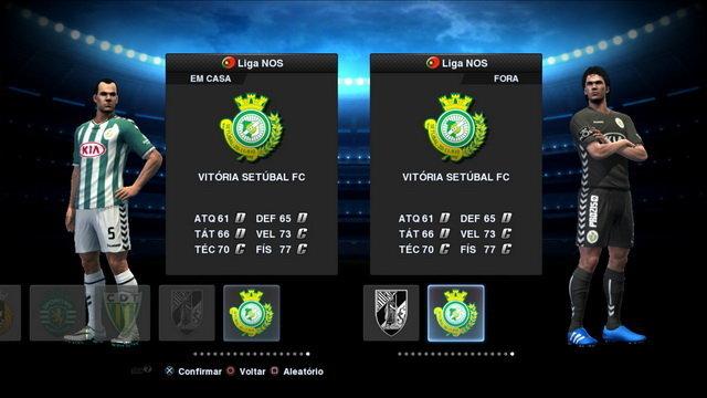 PES 2013 Vitória Setúbal Kit Season 2016-2017