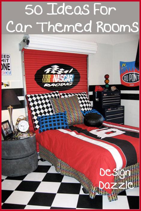 love my car: 50 Ideas For Car Themed Boys Rooms