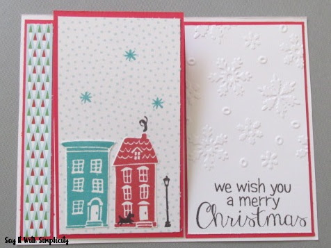 Fun Easel Card with CTMH City Sidewalks