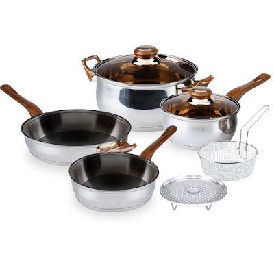 OX-911 | BASIC Cookware Set Oxone 4+2Pcs