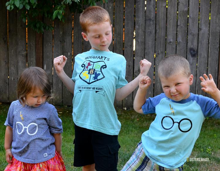 matching sibling harry potter shirts