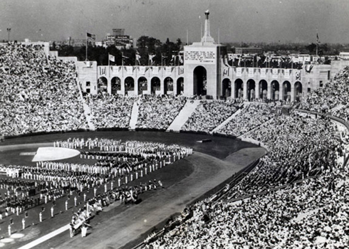 1932 olympic games opening ceremonies los angeles