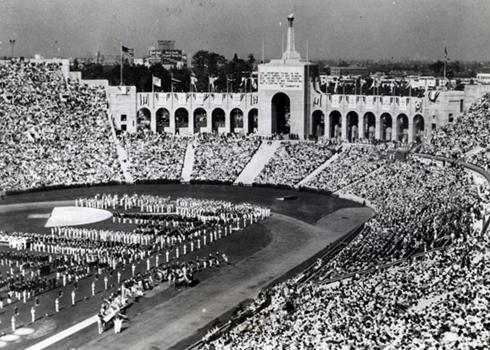 1932 olympic games opening ceremonies los angeles