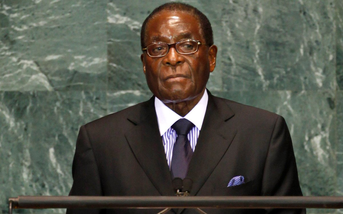 Mugabe Resigns: End Of An Era: Robert Mugabe's Reign Comes To A Painful Halt