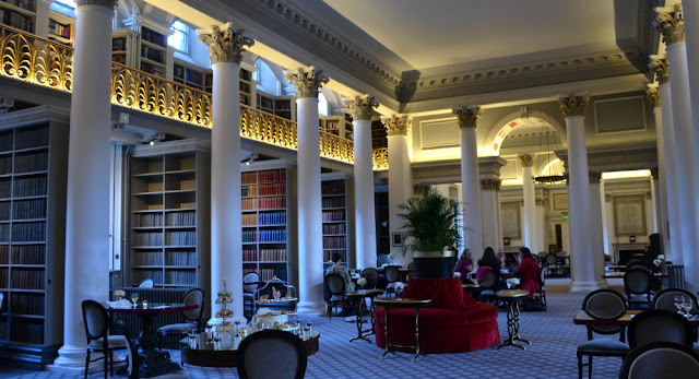 afternoon tea signet library colannades edinburgh