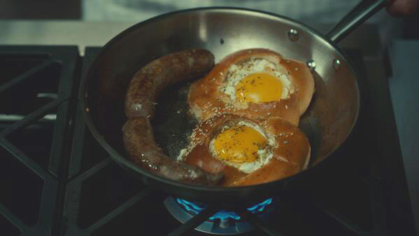 American Gods Table, Feeding Hannibal Oeuf redux Huevos High LIfe