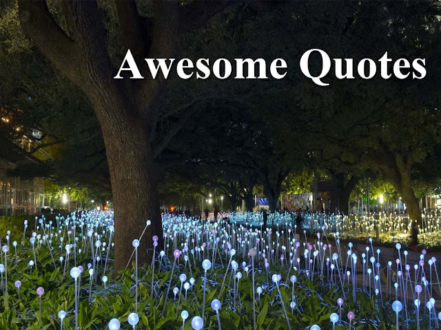 Awesome and amazing quotes