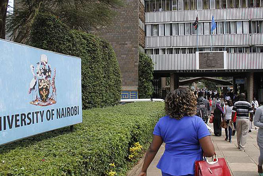 List of Courses Offered at The University of Nairobi