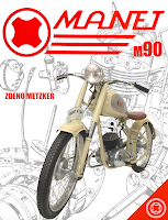 manet-manet 90-kniha manet-motorky-považské strojárne