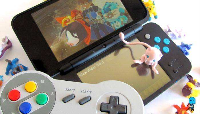 Nintendo 2Ds XL Pokemon SNES Controller