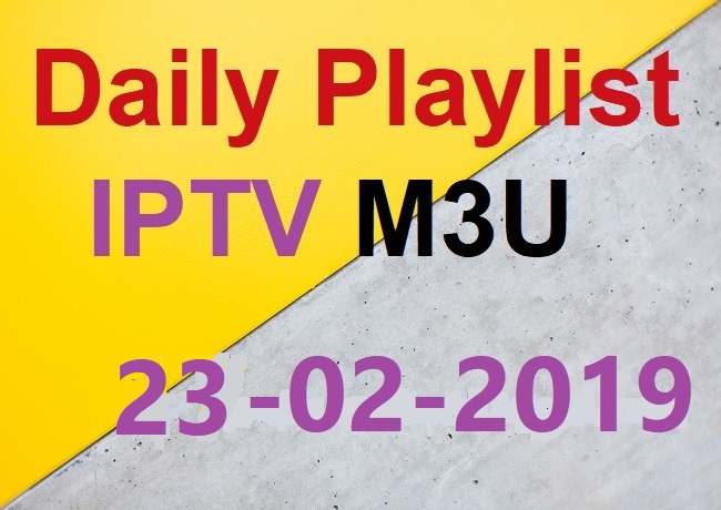 BEST FREE AND PREMIUM HD IPTV TO WATCH ALL THE WORLD CHANNEL 23/02/2019