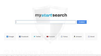 Contoh Virus Adware 'MyStartSearch'