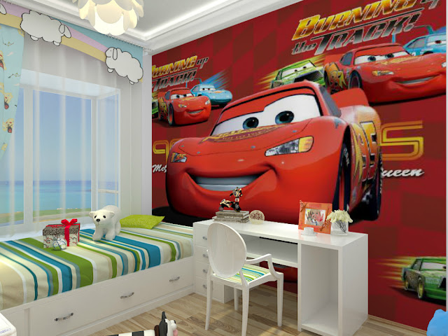 Wall Murals for Kids Room Disney Cars