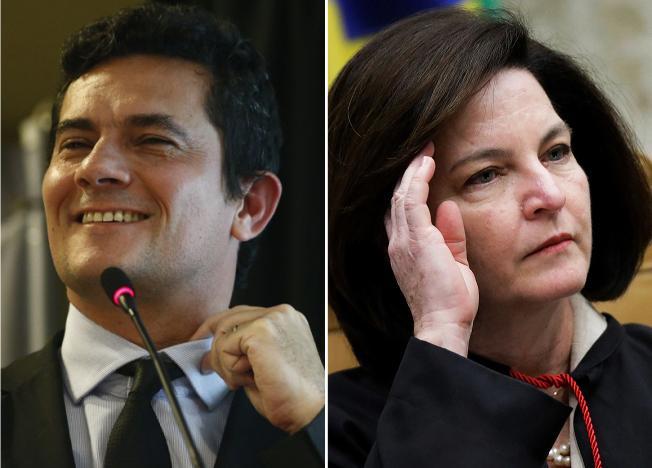 SÉRGIO MORO E RAQUEL DODGE