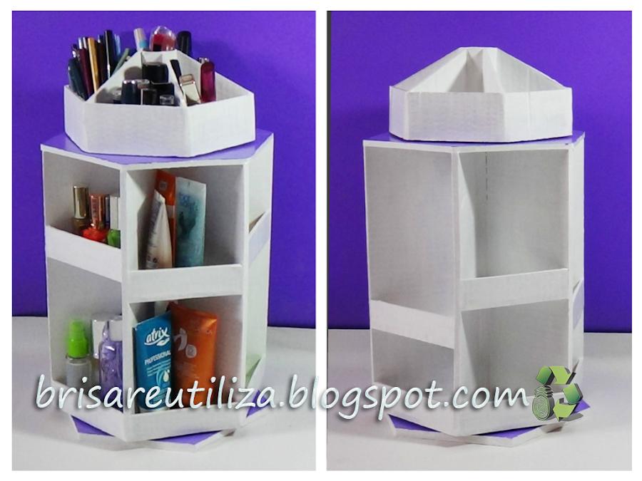 Organizador de maquillaje con carton - Como hacer un organizador de zapatos casero ...
