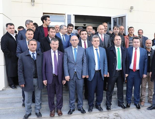 Başkan Çiftçi, Bozova'da STK'larla buluştu