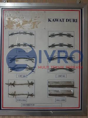 Ukuran Kawat Duri   Pabrik Kawat Duri