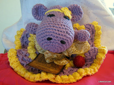 Crocheted Hippopotamus for Mom for Christmas 2015 - LifeInOut.com