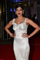 Sanchita Shetty in Deep neck Sleeveless White Gown Stunning Beauty at 64th Jio Filmfare Awards South ~  Exclusive 007.JPG