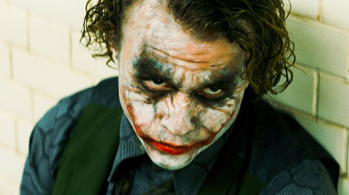 joker from the dark knight