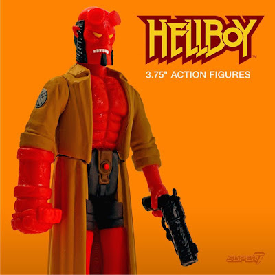 Hellboy ReAction Retro Action Figures Series by Super7