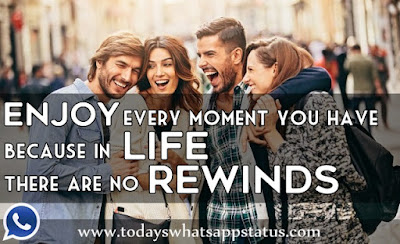 100 Felling Happy Life Quotes Status for Whatsapp in English