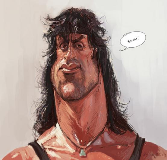 Rambo por Alberto Russo