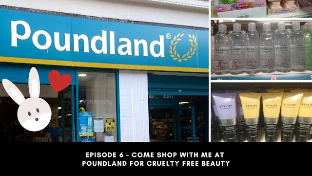 Episode 6 - Come Shop With Me At Poundland For Cruelty Free Beauty
