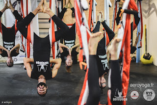 STAGE YOGA AERIEN PARIS FRANCE
