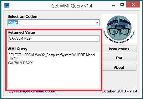 Get WMI Query v1.4 Released 5