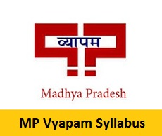 MP Vyapam Syllabus