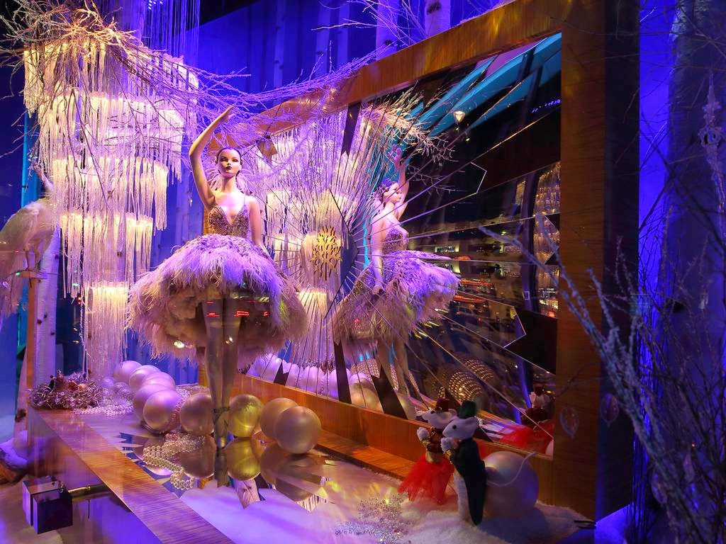 All About London Harrods Christmas Windows 2014 The Land