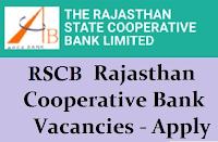 RSCB Recruitment