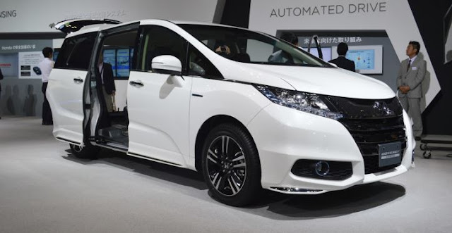 2018 Honda Odyssey Priview end performance