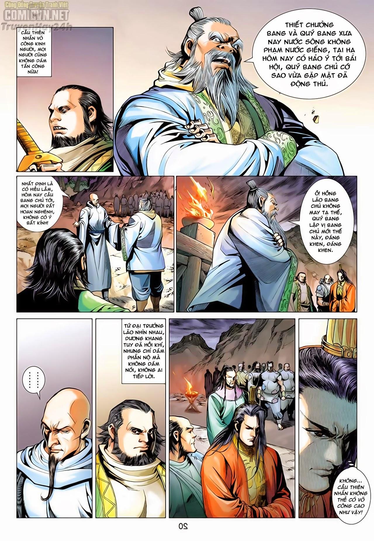 Anh Hùng Xạ Điêu anh hùng xạ đêu chap 66: nhạc châu đại hội trang 20
