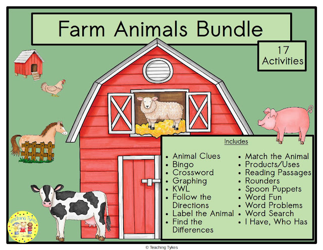 https://www.teacherspayteachers.com/Product/Farm-Animals-4401321