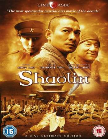 Poster Of Shaolin 2011 Hindi Dual Audio 550MB BRRip 720p ESubs HEVC Free Download Watch Online downloadhub.net