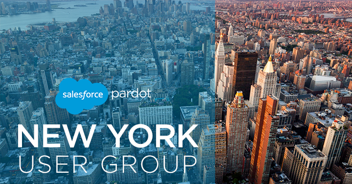 Tigh Loughhead asked to co-lead New York Pardot User Group