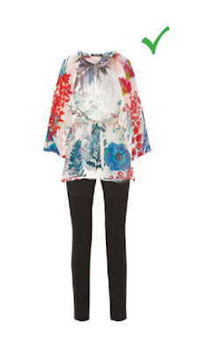 Комплект с брюками для худых женщин