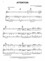 attention free sheet music