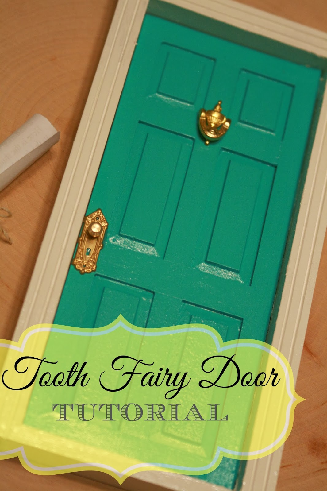 Tooth Fairy Door - Tutorial & Britches and Boots : A Place I Call Home: Tooth Fairy Door - Tutorial pezcame.com