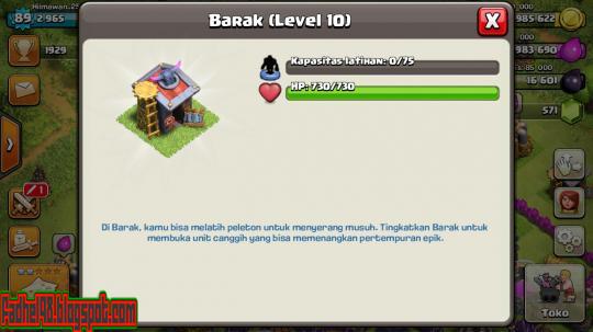Cara Merubah Bahasa COC (Clash Of Clans) Menjadi Bahasa Indonesia12