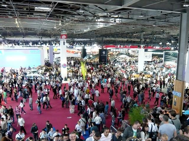 Paryskie targi przyciągają firmy z całego świata