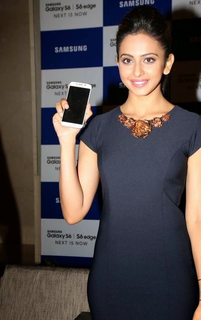 Rakul preet singh launches samsung galaxy s6 I s6 edge