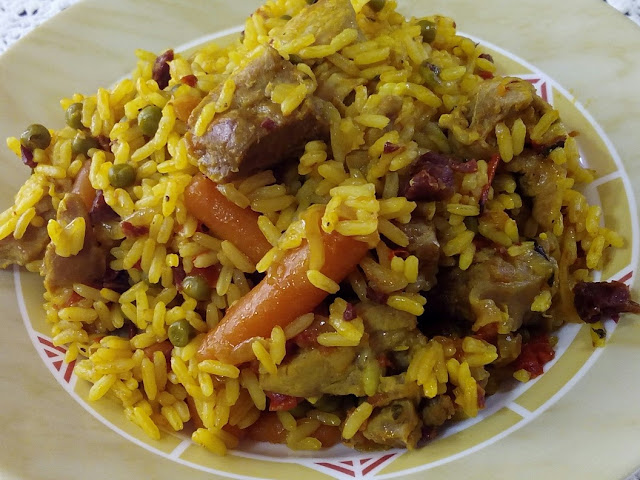 ARROZ CON PAVO EN GM E